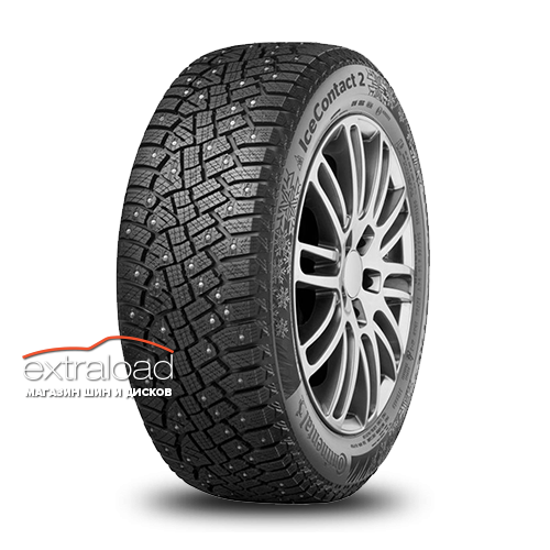 Continental IceContact 2 SUV 285/60 R18 116T (шип.)
